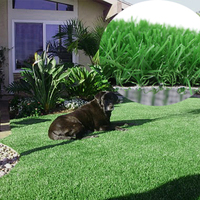 Natural Looking Synthetic Grass For Pet Raising