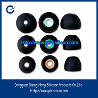 Customized in-ear soft rubber bluetooth headphone caps
