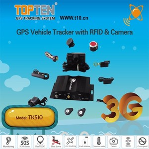 3G 4G Fleet Management GPS Tracking Device With Fuel Loss Alarm TK510