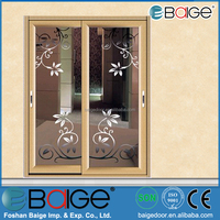 BG-AW9123 Main Veranda Sliding Door with Glass Door Sticker