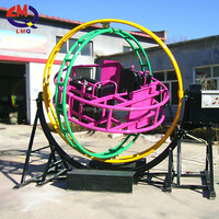 park gyro rides Indoor and outdoor amusement ride 3D human gyroscope for sale