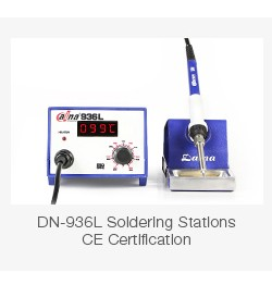 Wholesale Lead Free Solder Iron Tip Static Elimination Daina 900M T I Diamagnetic Electric Soldering Iron Kit DN-900-1