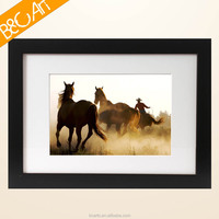 Shenzhen professional artist oil paint of realistic horse