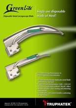 GreenLite - Disposable Laryngoscope Blade