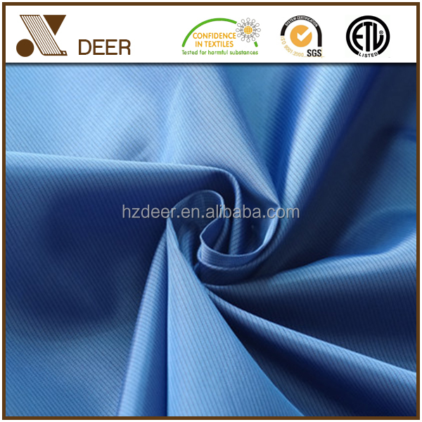 100% polyester two tone big twill liner lining fabric for garment