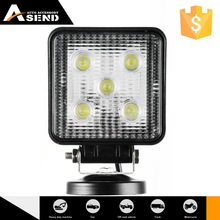 flood/spot round 15w led work light for 4WD VECHILES headlight,fog light, DRIVING LIGHT