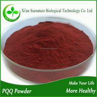 High quality 99% pure pyrroloquinoline quinone / pqq powder