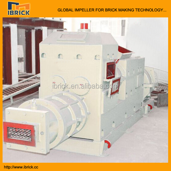 Clay brick making extruder machine for different size type brick mould