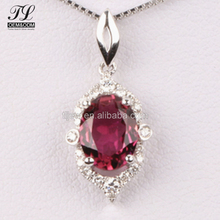 Factory direct sale fake crystal diamond jewelry 925 sterling+gold silver crystal