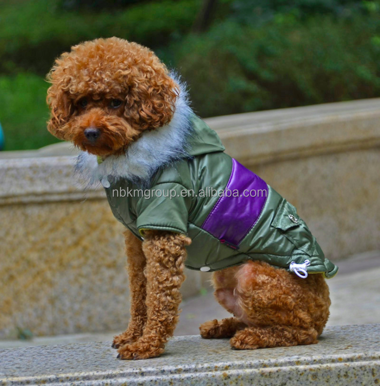 Polyester Pet Clothes Comfortable Warm Winter Clothes for Dog
