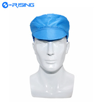Hot Sale ESD Cleanroom Bouffant Hat Antistatic Cap For Electronics Industry