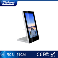 Rcstars OEM/ODM 15.6 Inch Full HD Desktop LCD Monitor with HDMI Input in Silver Color(RCS-151CM)