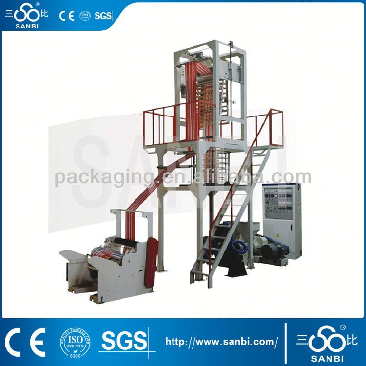 Plastic Pe Extruder Film Blowing Machine