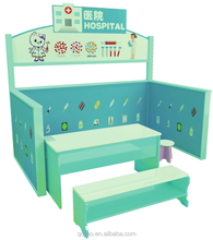 School Play Wooden Hospital Doll House