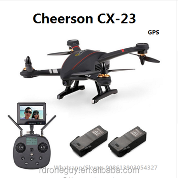 2018 Hot sale Cheerson CX-23 CX23 Brushless 5.8G GPS FPV unmanned drone uav