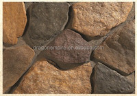Outdoor or indoor wall covering artficial culture stone pieces