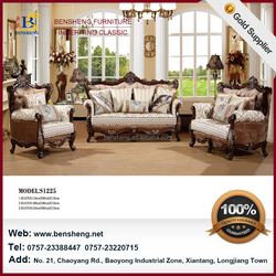 New Fashion Import Appartment Furniture Classical Leisure 1+2+3 Living Room Furniture Fabric Sofa