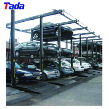 pjs three layer mini cheap elevated car parking lift system