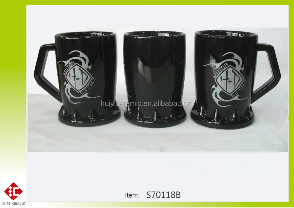 whole sale and new design mug ceramic with decal