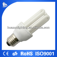 U shape energy saving lamp /fluorsecent bulb cfl 3u T3 11W-the leading lighting manufacture