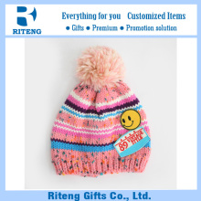 Customize fabric beanie hat pattern baby winter hats