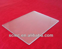 3-19mm sheet glass(Super white cloth grain toughened /tempered glass) with CE ISO9001