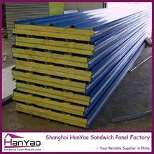 China Fireproof Polyurethane/Mineral wool/EPS sandwich panel