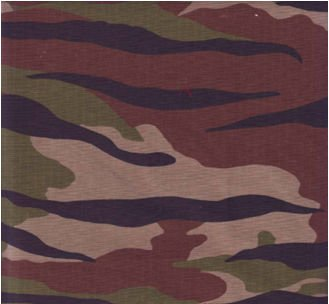 High Quality Ribstop Printed Army Fabric