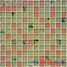 China Style Mosaic Arts Glass Mosiac Tiles Crystal Mosaic Tiles