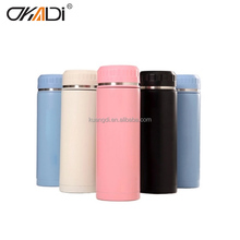 Hardwearing infuser tea double walled stainless bottle thermo water bottle flask
