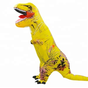2018 Wholesale factory direct sell inflatable funny mascot dinosaur costume for kids and adult