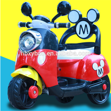 Vivid and great mini cheap kids ride on car electric baby motorcycle toys