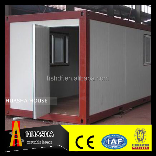 Low cost prefabricated eps sandwich panel container houses