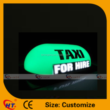2016 For hire roof top leds taxi signs for sale