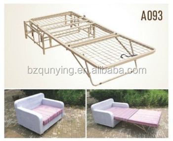 inexpensive all metal structure folding sofa bed frame. Black Bedroom Furniture Sets. Home Design Ideas