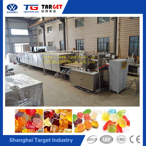 High quality Gummy Bear Soft Candy Pruduction Machine For sale