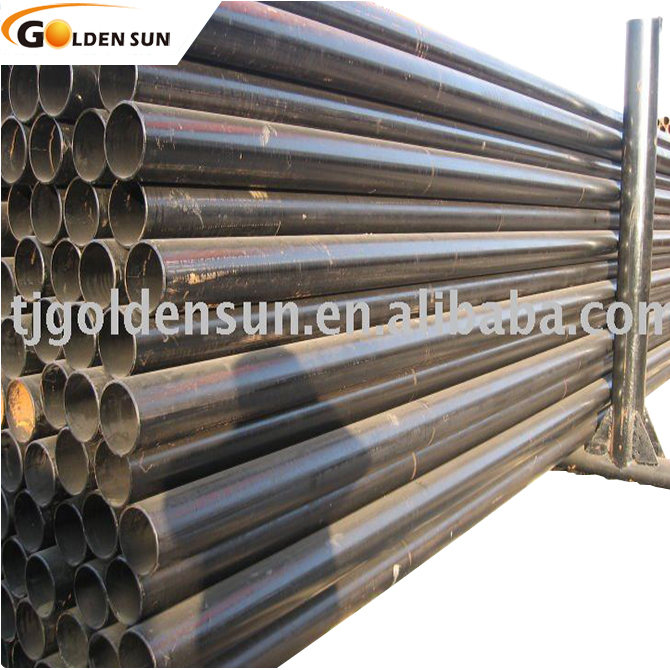 round steel pipe/hollow structural steel pipe price/galvanized steel pipe sleeve of china supplier