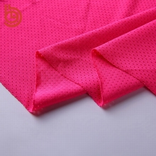 Drifit sportswear breathable polyester spandex mesh fabric stretch