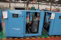 China Manufacture Hot Sale 70HP 55KW Rotary Screw Compressor 10Bar