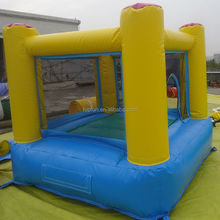 Lovely hot selling cheap inflatable jumping castle body bouncers for kids play