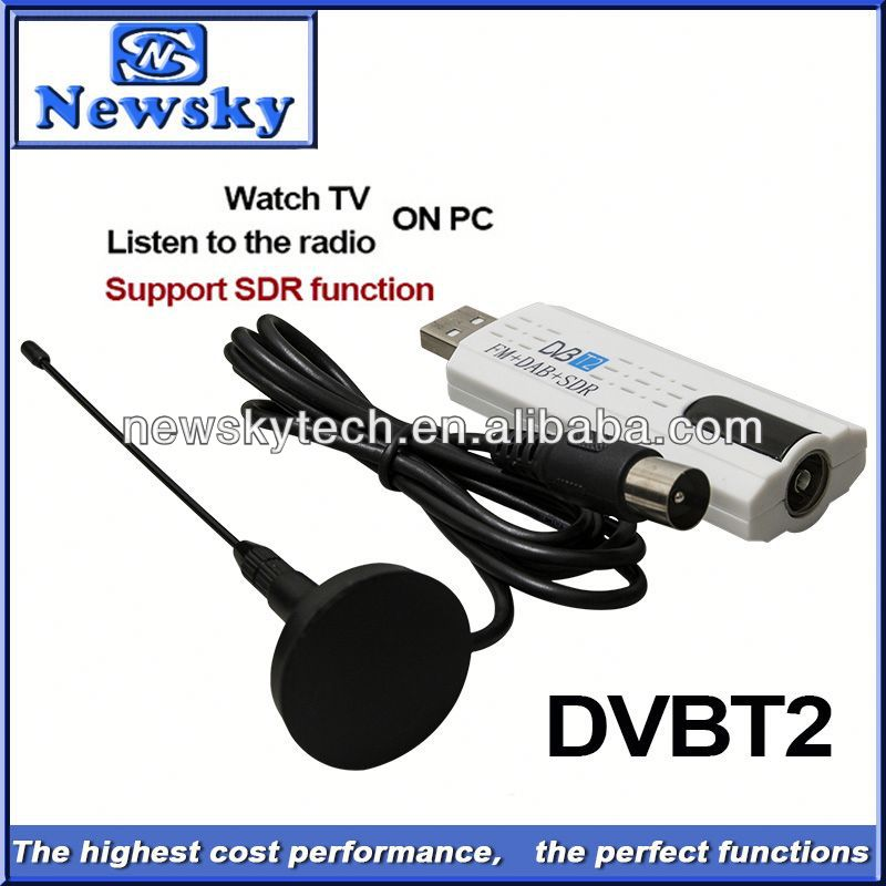 dvb-t2 set top box digital tv cable receiver with TV/FM/SDR function