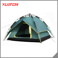 Waterproof Double layer Automatic Outdoor 2 Person Instant Camping Family Tent