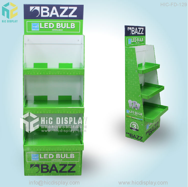 HIC Custom Design Pop Paper Display Stand