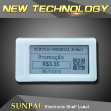 "2.1"" electronic shelf label system in retails store , ESLs e-paper dot matrix price tags/labels"