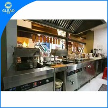 Modern top quality 5 star chinese hotel restaurant kitchen equipment in china
