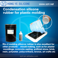 good price rtv 2 silicon rubber mold making molding plastic