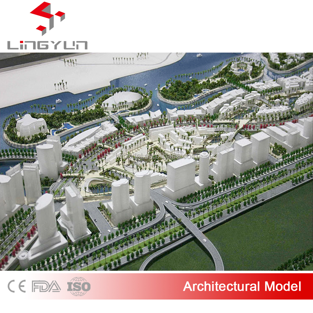 2016 latest design architectural model for luxury real estate sale