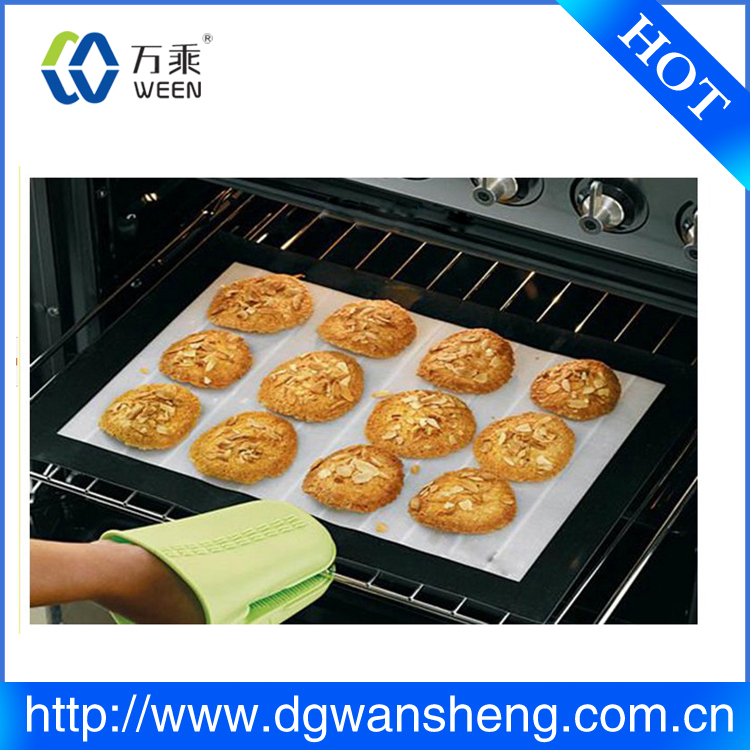 factory customized size baking oven mat,Reusable Non-stick Surface BBQ Grill Mat Baking Easy Clean Grilling