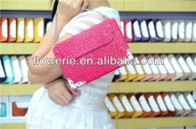 FL296 hot selling luxury Crocodile crystal handbag leather case for ipad mini 2