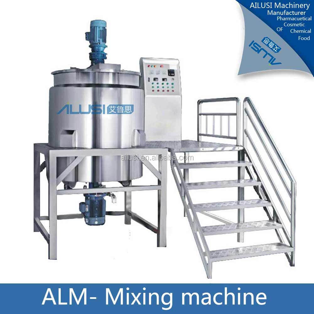 SUS316 iquid laundry soap making machine, hand sanitizer production line